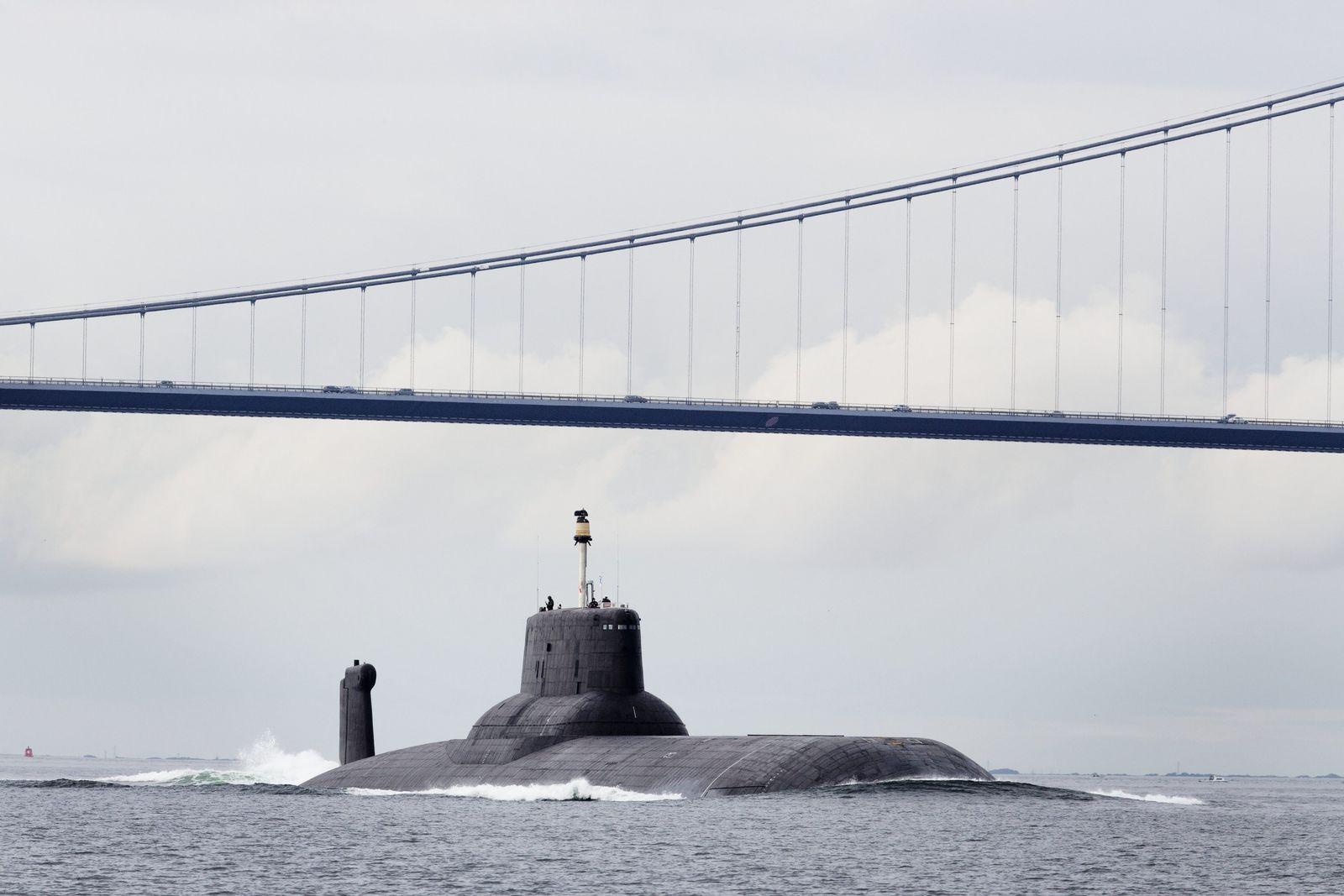 Russisches Atom-U-Boot in dänischen Gewässern