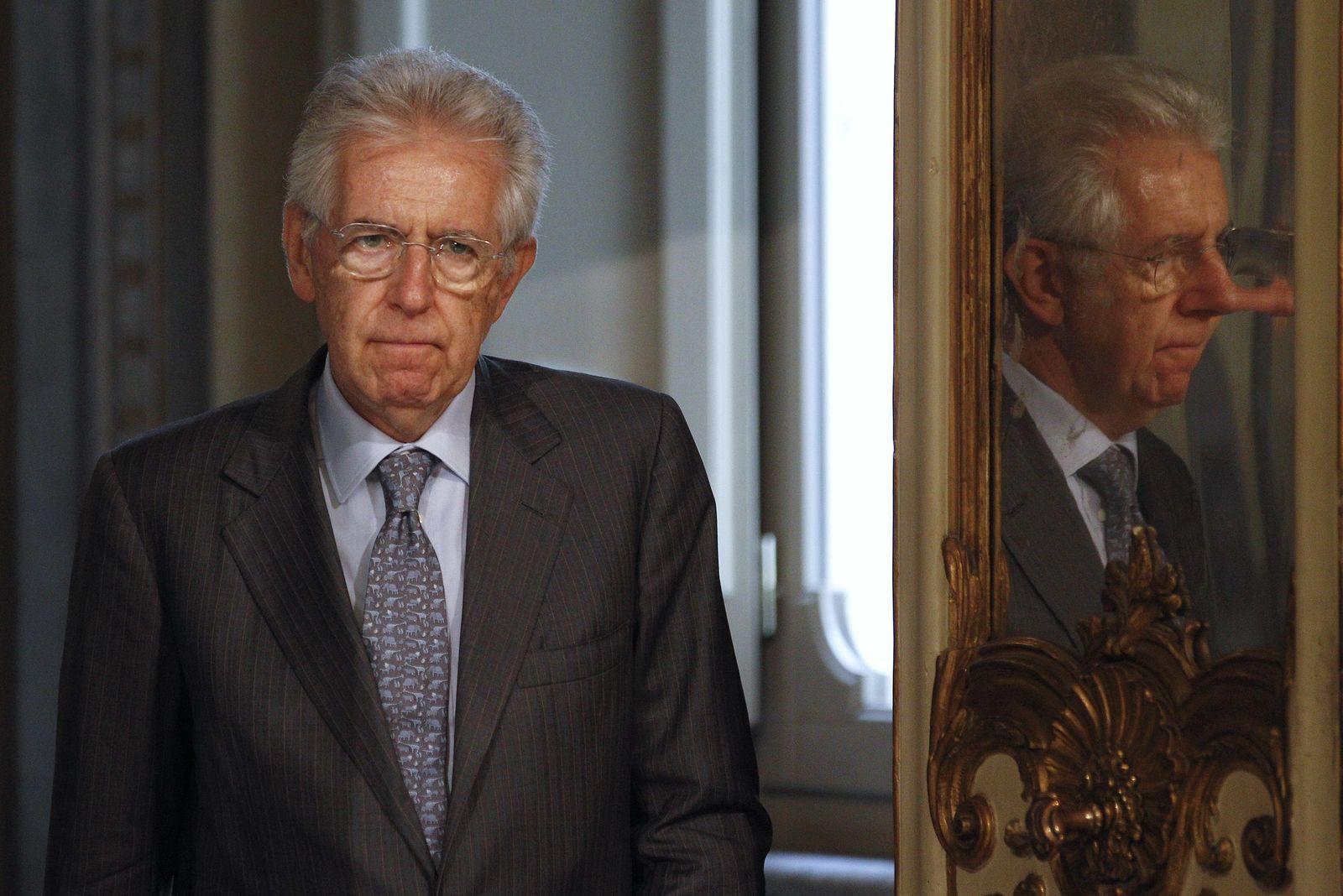 Mario Monti Italien
