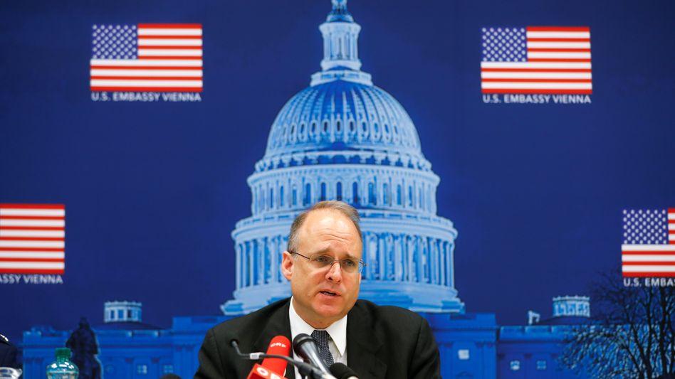 Diplomat auf Abwegen: US-Unterhändler Marshall Billingslea