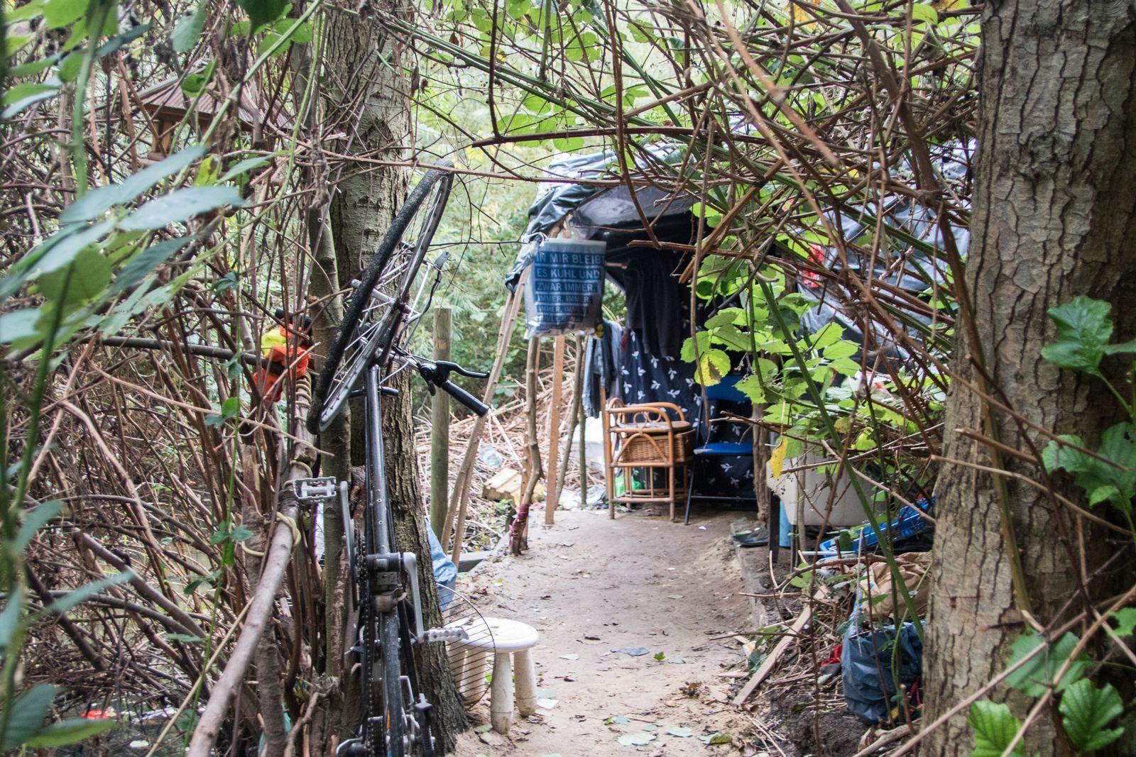 bulgarische Gastarbeiter / Behausungen