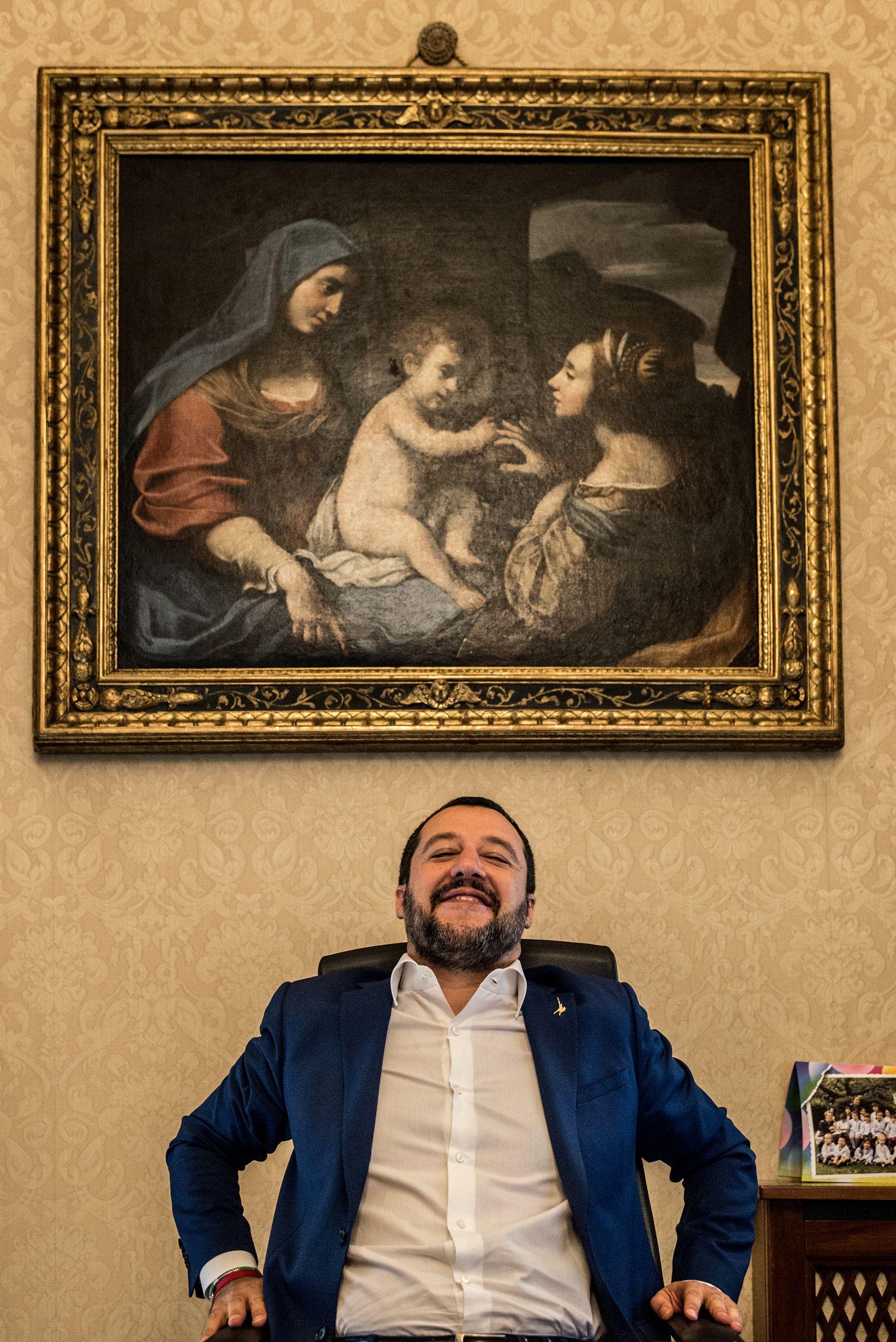 EINMALIGE VERWENDUNG Salvini Plus