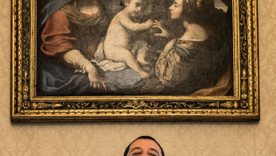 Italian Interior Minister Matteo Salvini