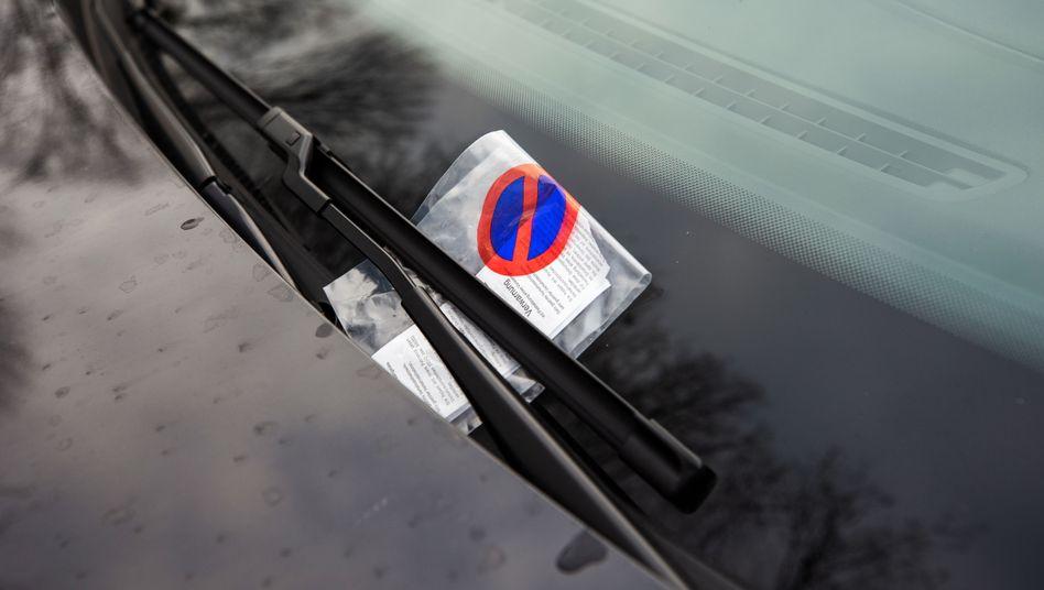 In Frankfurt können Autofahrer auf Schadensersatz wegen ungültiger Strafzettel hoffen