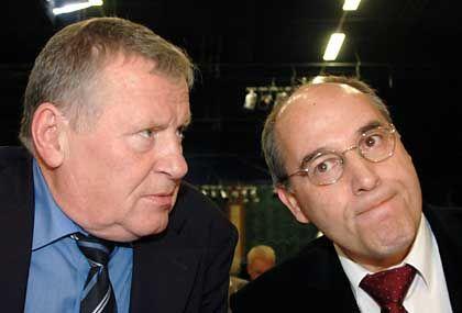 Gregor Gysi und Lothar Bisky: Die PDS-Spitze ist skeptisch