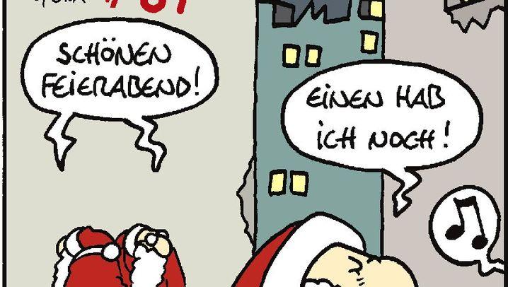 Comic von ©Tom: Ho, ho, heiliger Zorn