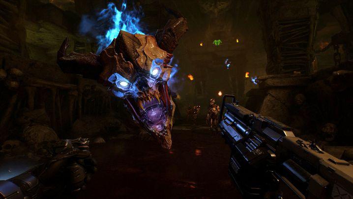 """Szene aus """"Doom VFR"""""""