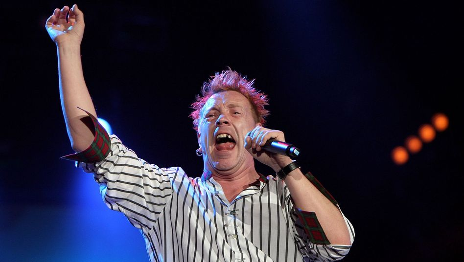 John Lydon von den Sex Pistols 2008