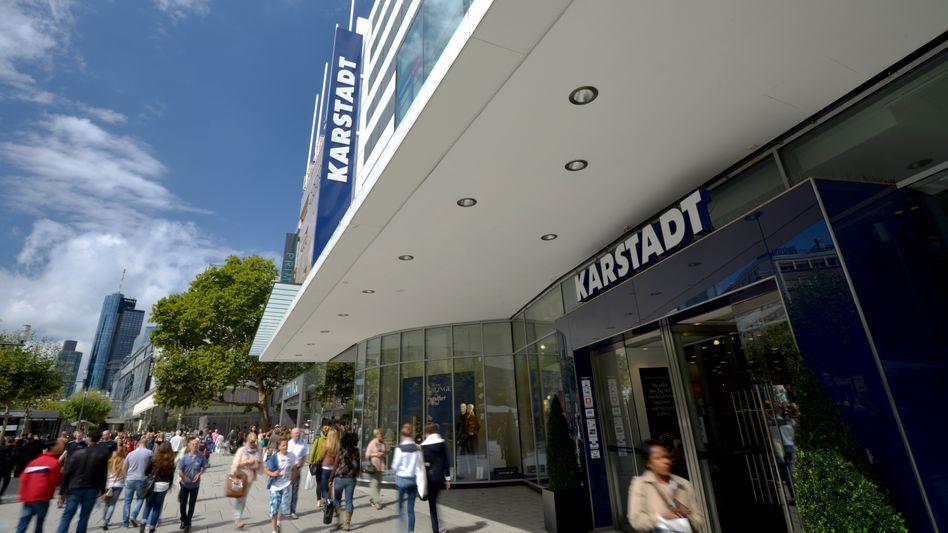 Karstadt in Frankfurt am Main: Kaufhauskette schreibt rote Zahlen