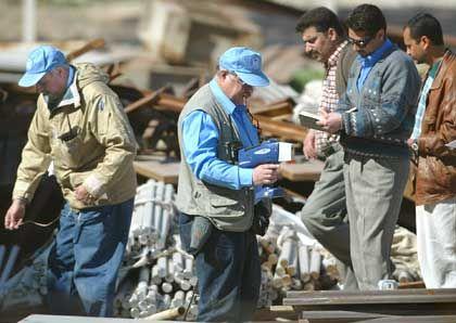 Uno-Waffeninspektoren im Irak (2003)