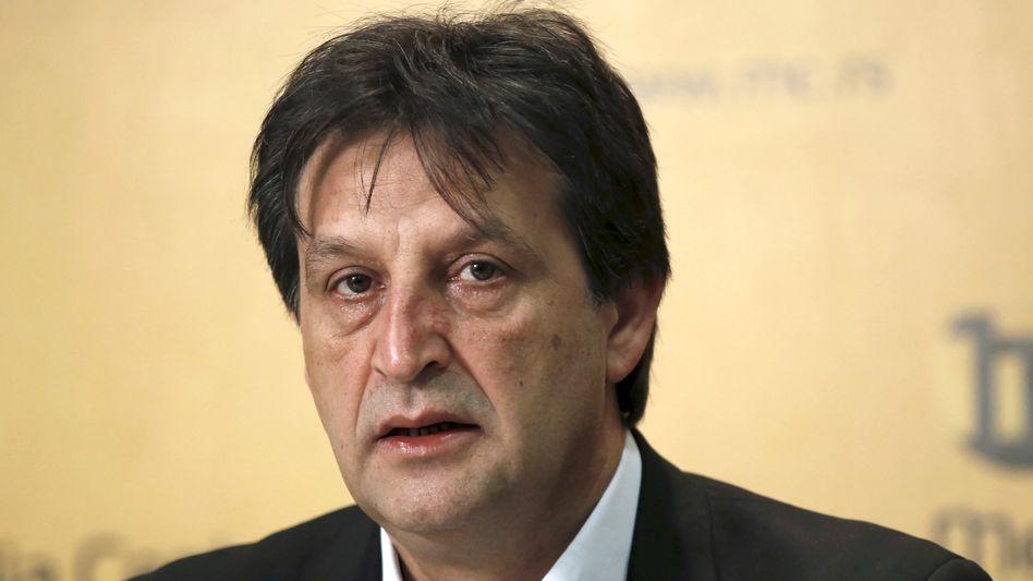 Politiker Gasic: Vom Parlament mit großer Mehrheit geschasst