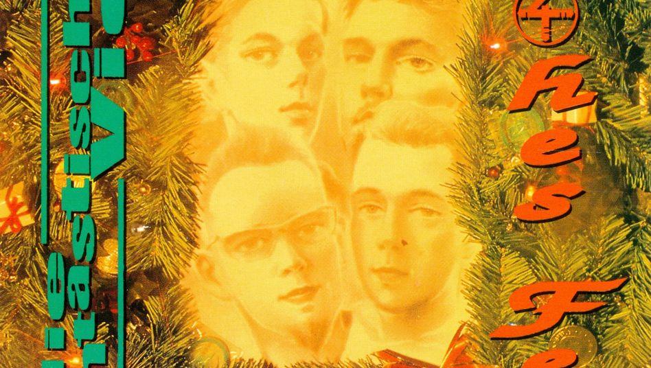 """Das Weihnachtslied """"Frohes Fest"""" der Fantastischen Vier wurde jeweils im Vorfeld der Festtage 1991, 1992 und 1993 als Single veröffentlicht"""