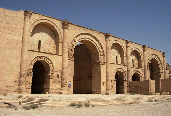 Der Shamash-Tempel in Hatra im Jahr 2005