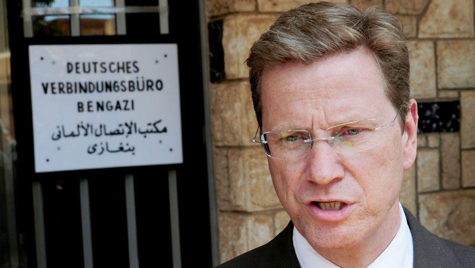 Außenminister Westerwelle: Tripolis geißelt Blitzbesuch in Bengasi