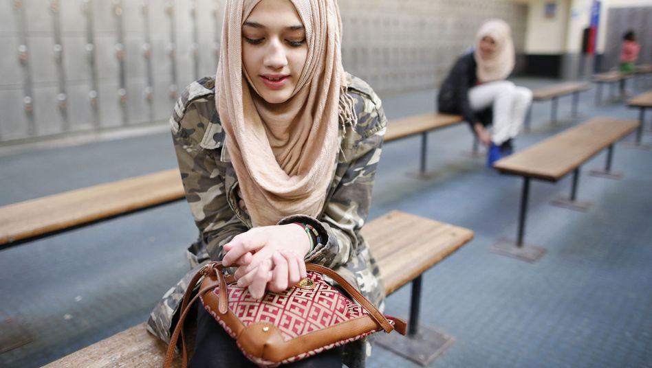 Mädchen mit Hijab