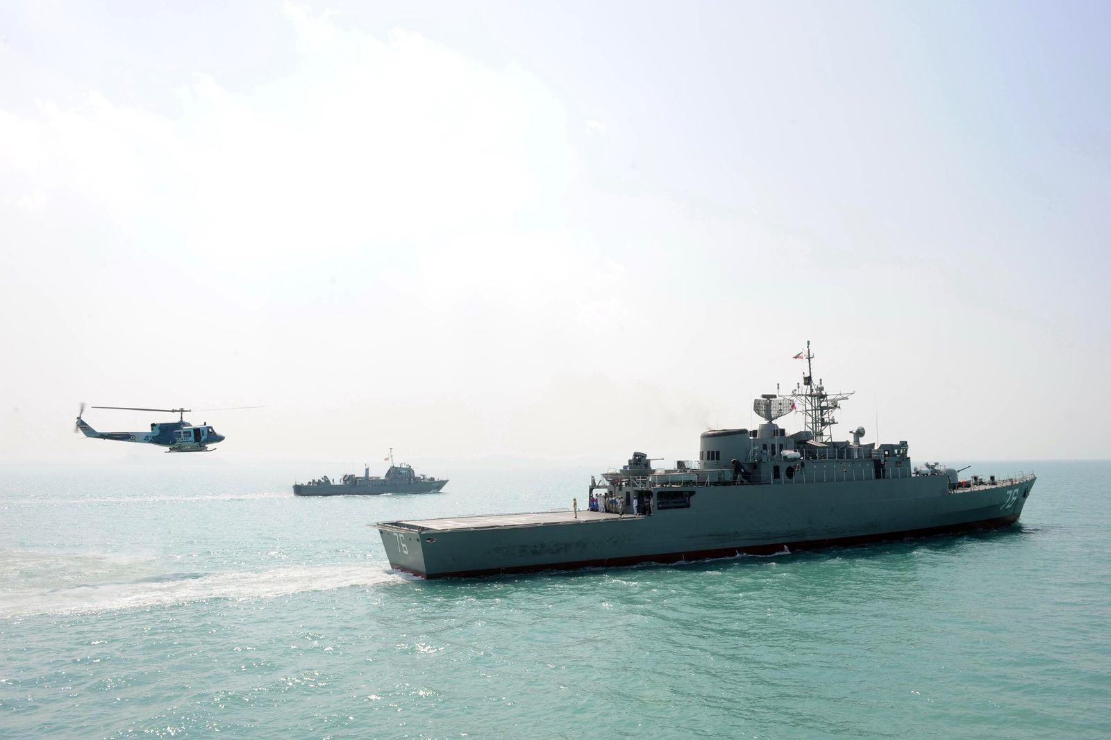 Iran/ Kriegsschiff
