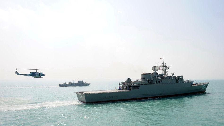 """Iranisches Kriegsschiff (Archivfoto): """"Wir haben die Piraten in die Flucht geschlagen"""""""