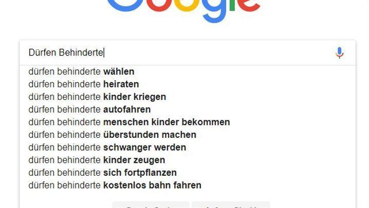 """Autovervollständigung: """"Merkel ist..."""""""