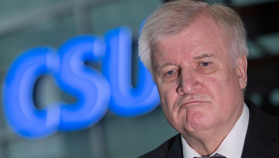 Horst Seehofer, CSU-Chef und bayerischer Ministerpräsident