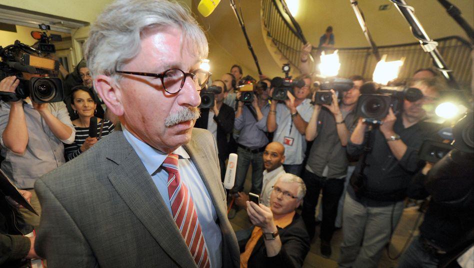 Ex-Bundesbanker Sarrazin: Das Parteibuch kann er behalten