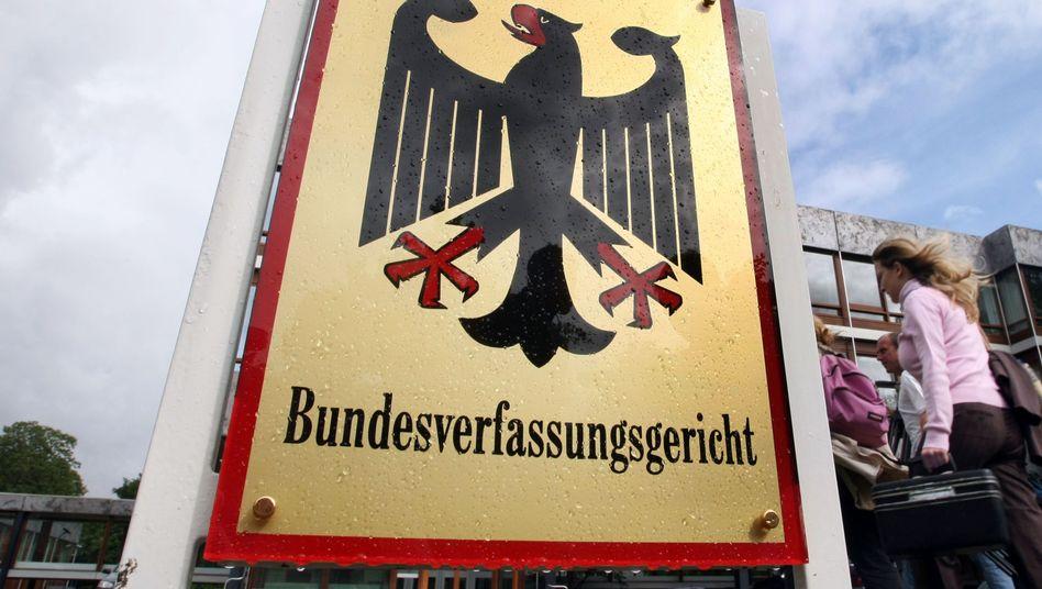 """Bundesverfassungsgericht: """"Der Grundsatz der Subsidiarität der Verfassungsbeschwerde nicht gewahrt"""""""