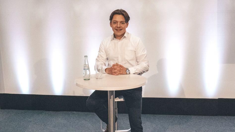 """Samuel Pemsel: """"Ich möchte irgendwann einmal bei den ganz großen Unternehmern mitspielen, dafür investiere ich enorm viel"""""""