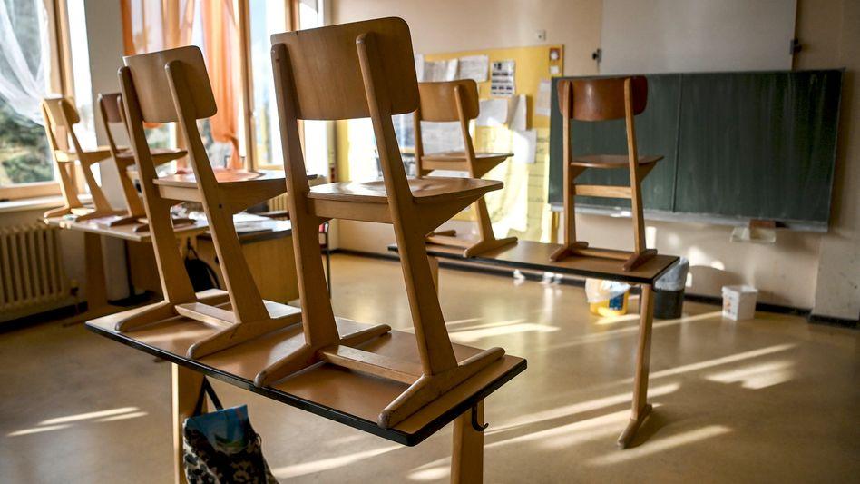 Verlassenes Klassenzimmer (Symbolbild)