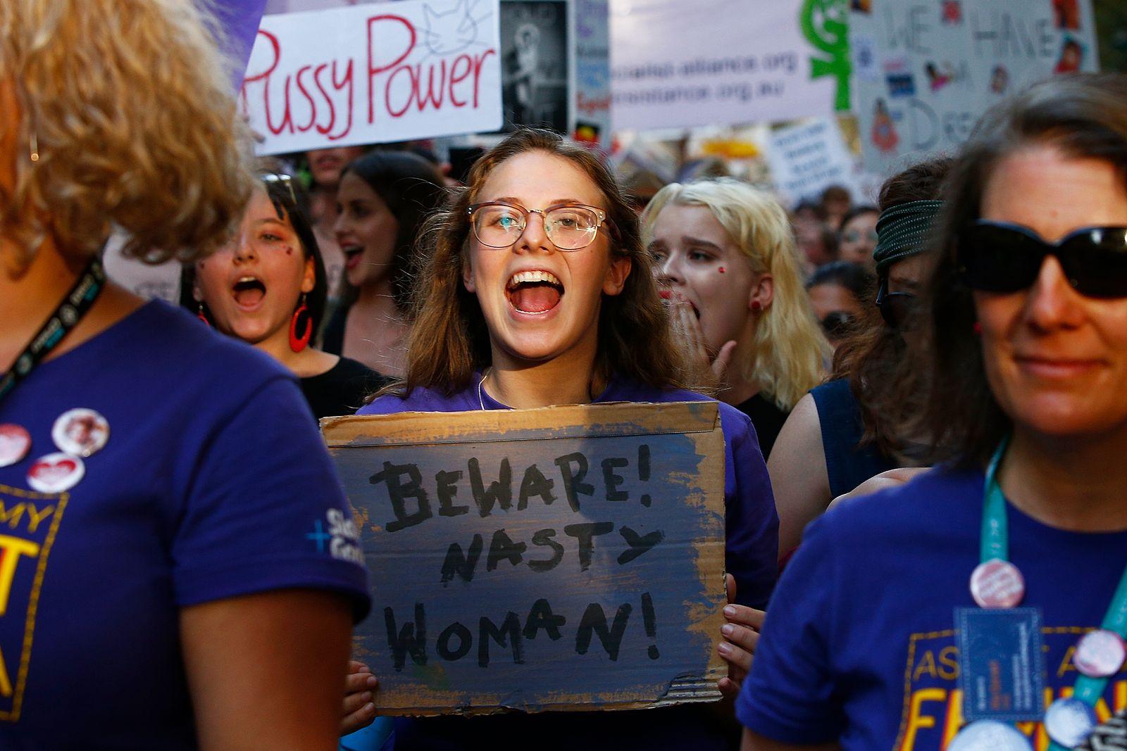 Frauentag Australien