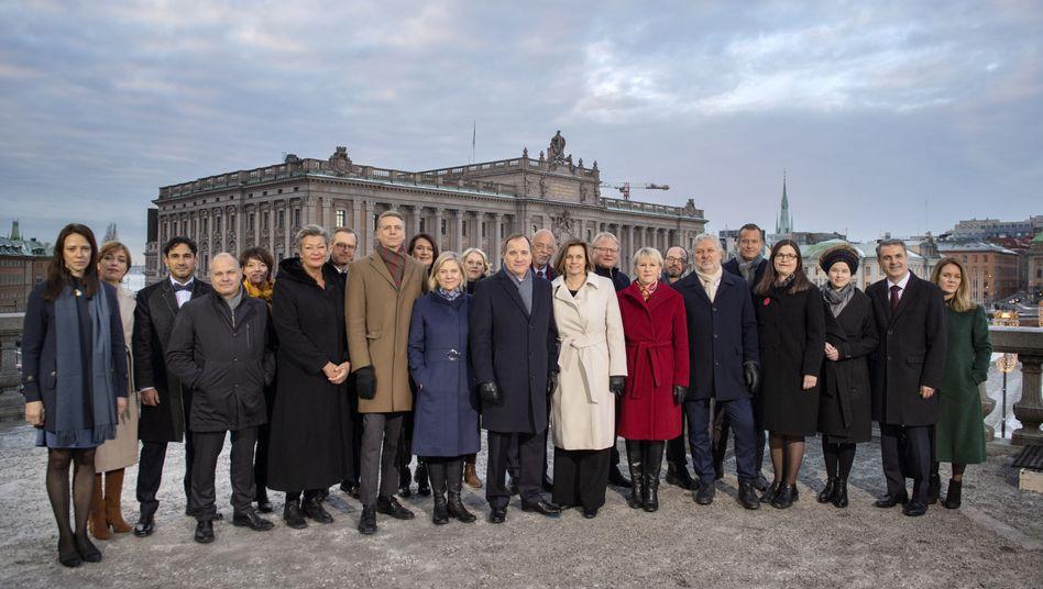 Schweden hat eine der weiblichsten Regierungen der EU.