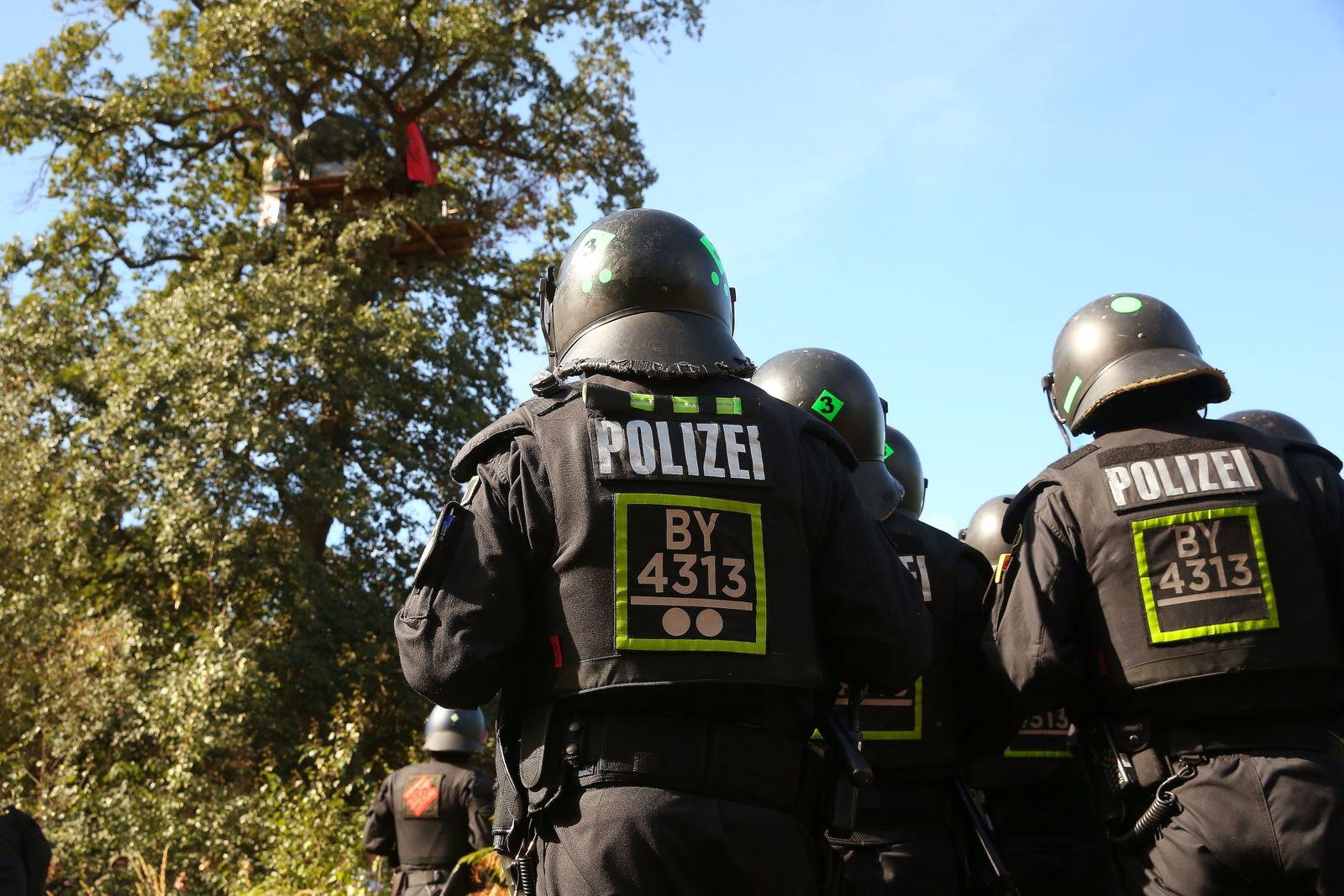 Hambacher Forst Polizei