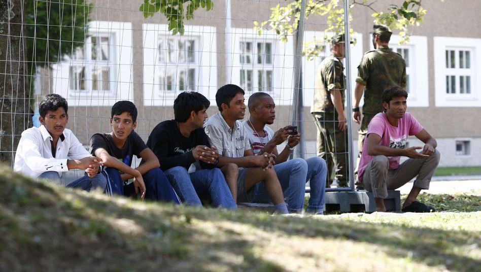 Migranten in Sonthofen: Deutschland muss sich für einige Jahre auf hohe Flüchtlingszahlen einstellen