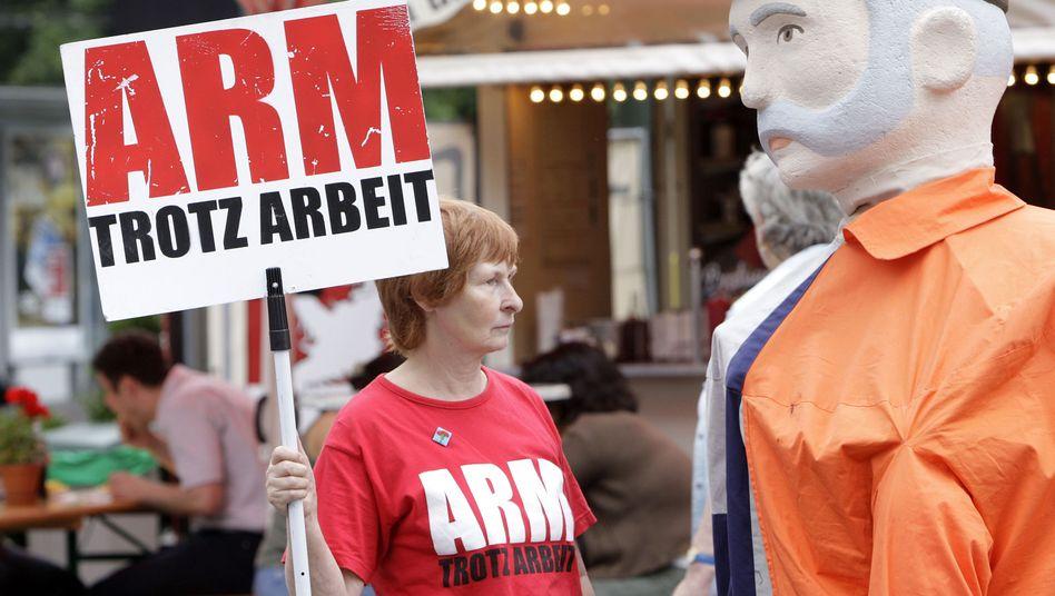 """Demonstration für Mindestlohn: Widerstand gegen """"Hungerlöhne"""""""