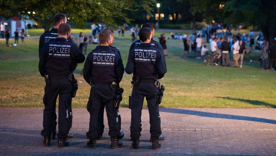 Polizei im Einsatz (Archiv)