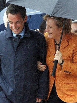 Sarkozy and Merkel looked the best of chums at Meseberg last week. But behind the scenes, Merkel is apparently getting on Sarko's nerves and the hyperactive French president is bewildering the Germans.