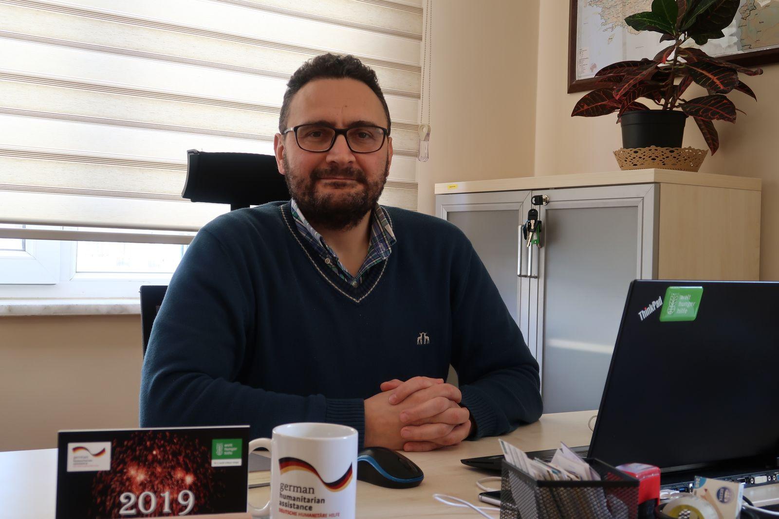 Halil Kurt/ Programmkoordinator Syrien der Welthungerhilfe