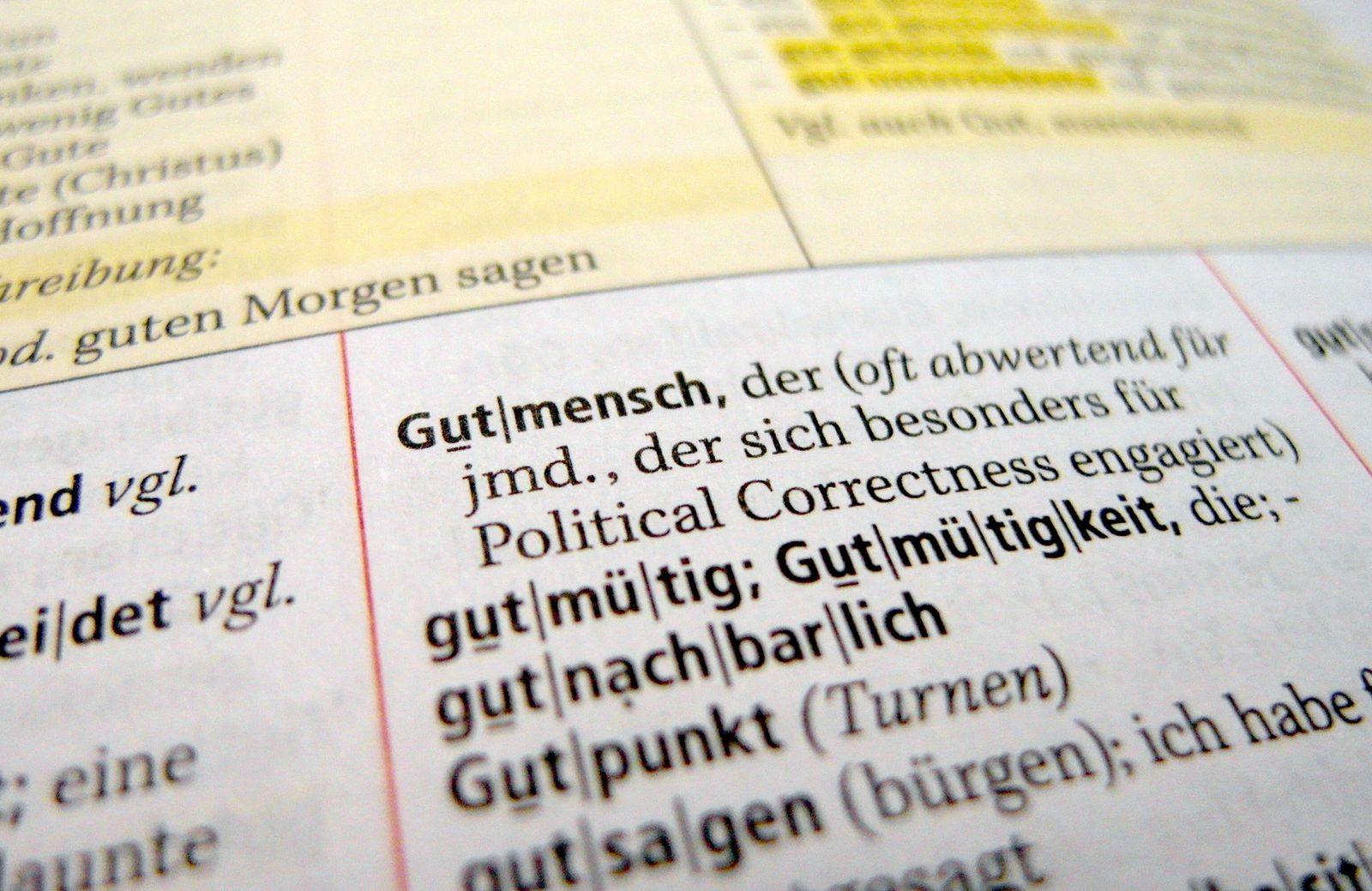 Unwort 2015/ Gutmensch