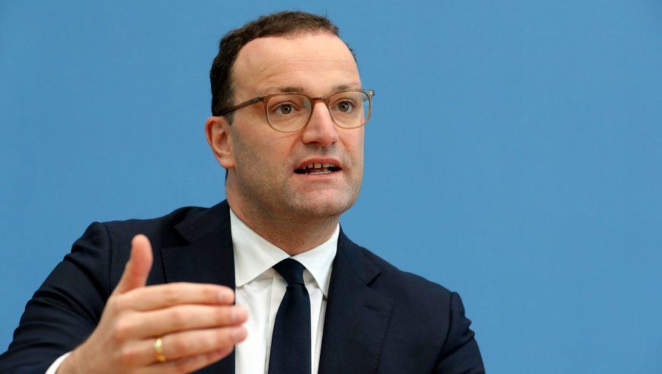 Gesundheitsminister Jens Spahn (CDU) ist selbst an Covid-19 erkrankt (Archivbild)