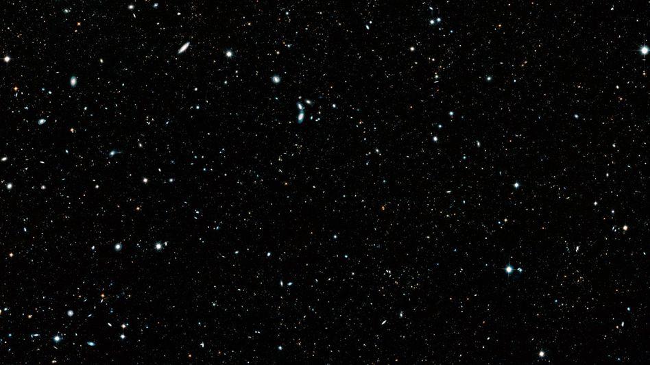 """Panoramabild """"Hubble Legacy Field"""""""