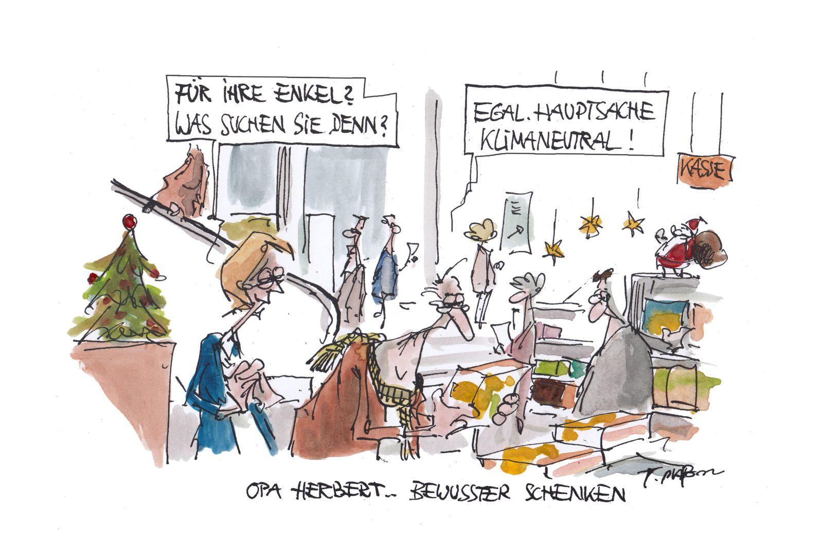 EINMALIGE VERWENDUNG Cartoon/ 22.12.19