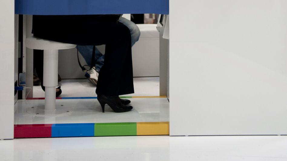 Google-Fotobox auf der Cebit: Anwender beklagen neue Datenschutzregeln
