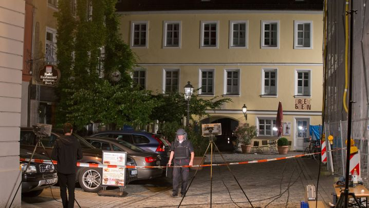 Bayern: Anschlag in Ansbach