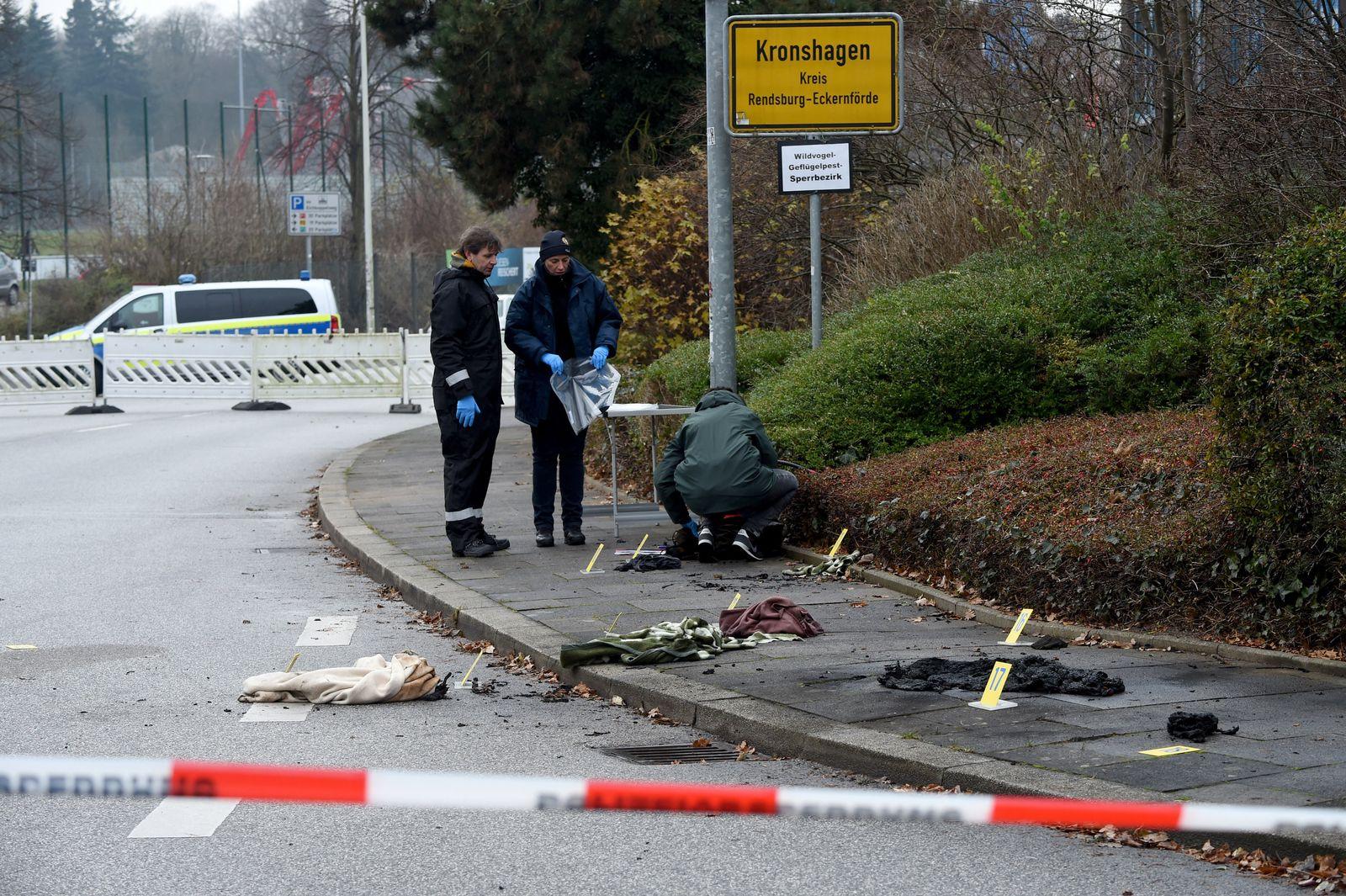 Frau in Kronshagen angezündet