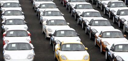 Porsche-Modelle im Hafen von Emden: Veränderter Modellmix