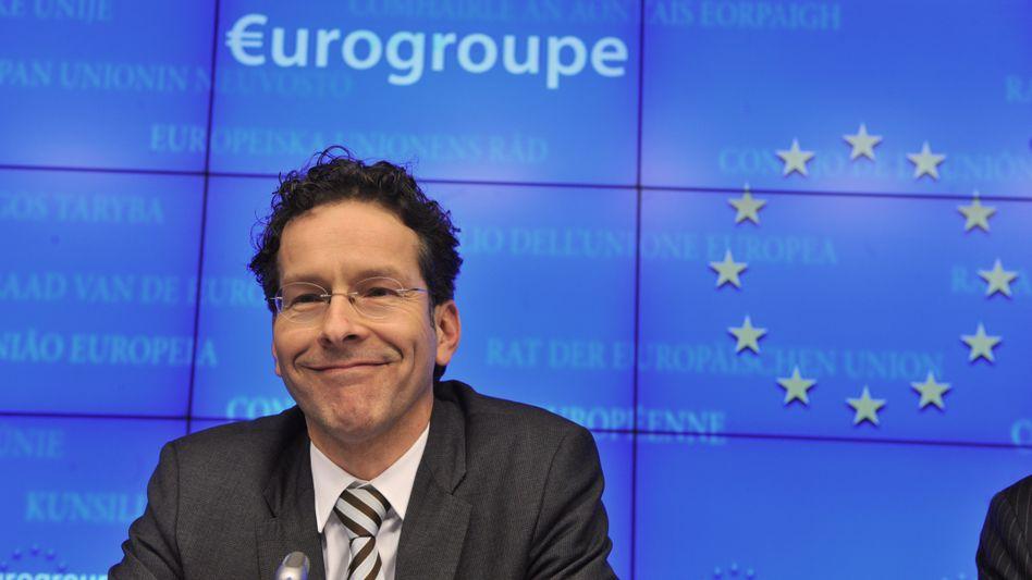 Dutch Finance Minister Jeroen Dijsselbloem was chosen on Monday to head up the Euro Group.