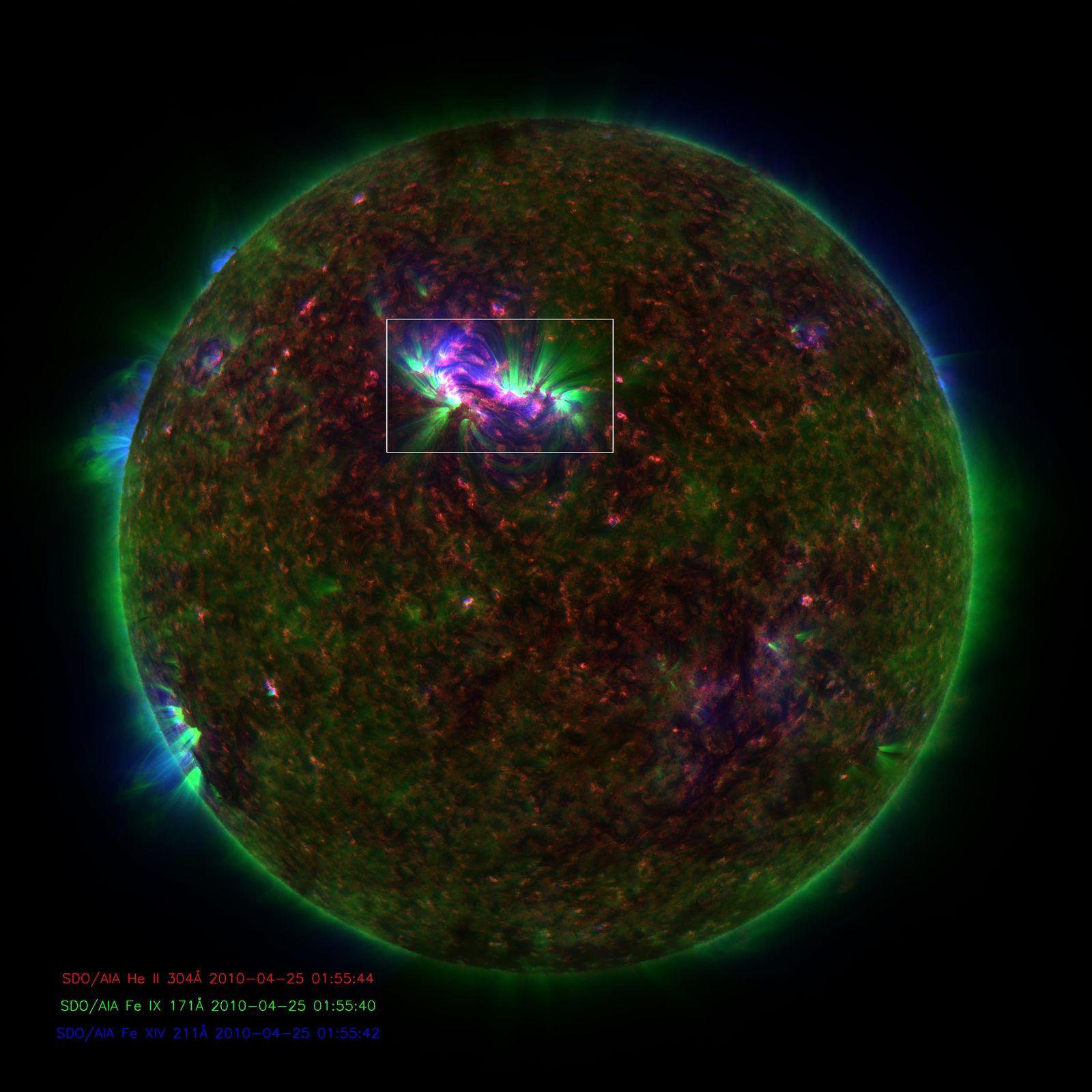 NICHT VERWENDEN Sonne / Plasmaschwingung / SDO