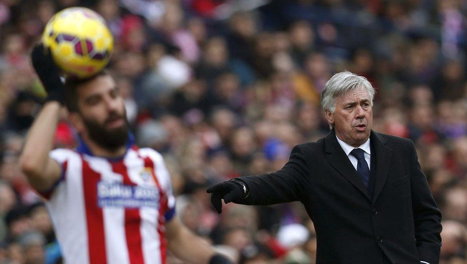 Real-Trainer Ancelotti (r.): Klartext nach der Klatsche