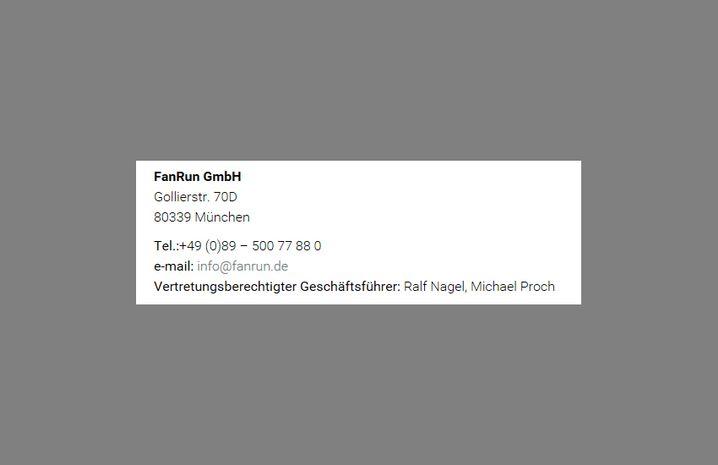 Vorher: FanRun GmbH