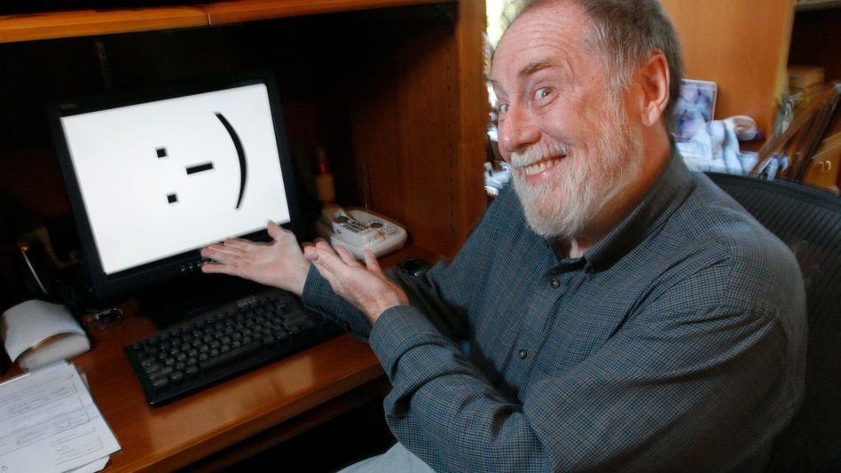 Scott Fahlman, Erfinder des »:-)« – des ersten digitalen Smileys