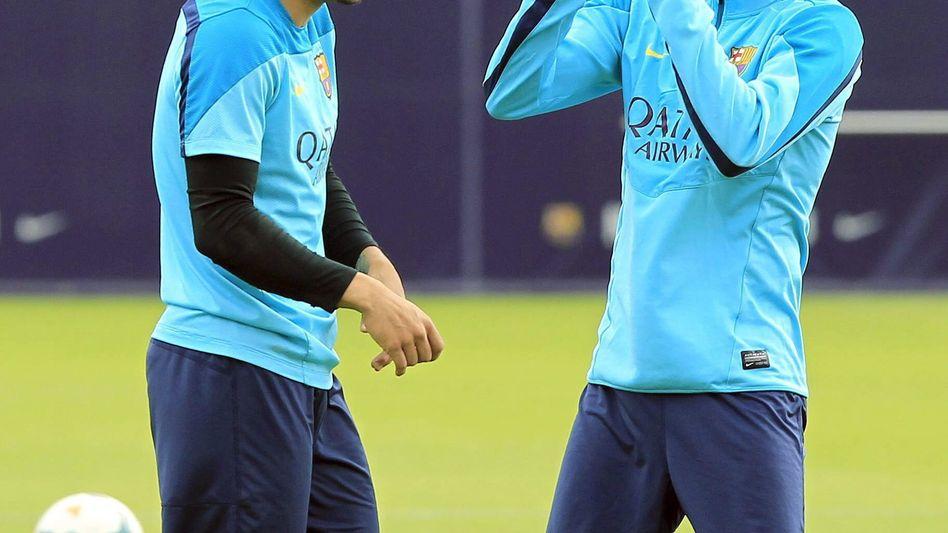 """Barcelona-Spieler Alves: """"Es ist immer das Gleiche"""""""