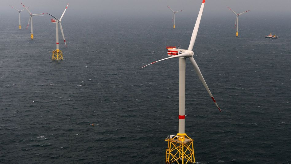 Offshore-Anlage Alpha Ventus in der Nordsee: Riesige Investitionspotentiale