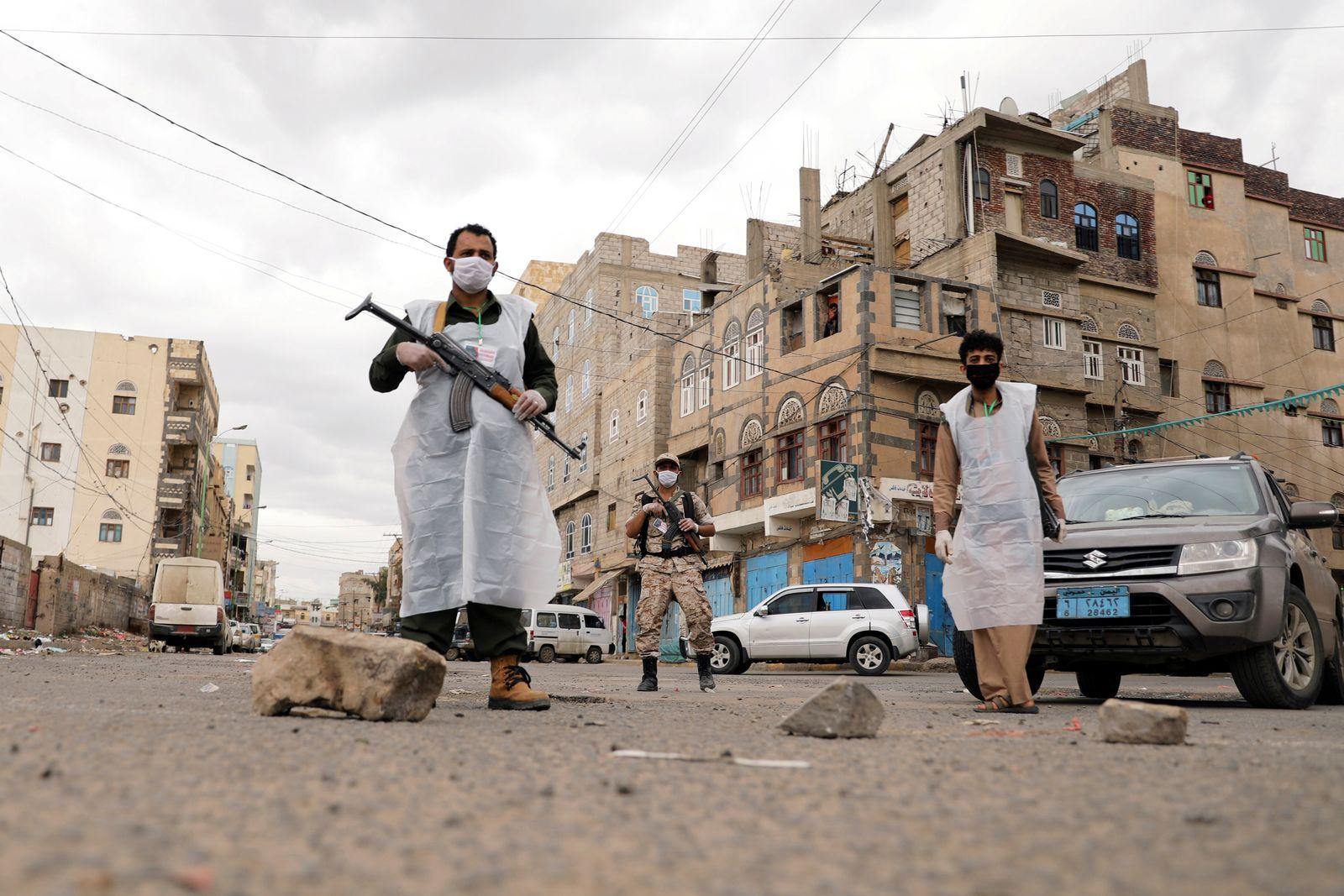 Spread of the coronavirus disease (COVID-19), in Sanaa
